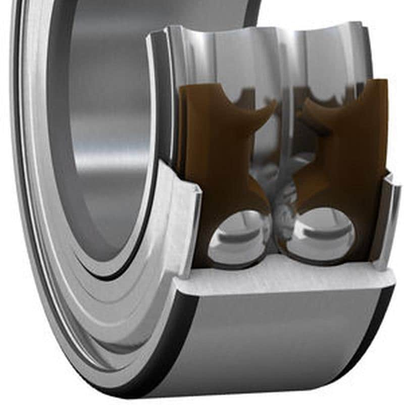 Double row ball bearing image