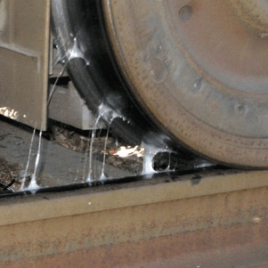 Lubrication systems for rail applications
