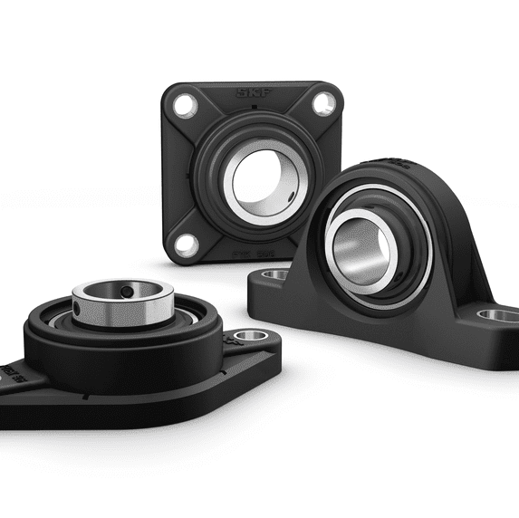 SKF Y-bearing units with composite housing 3D rendering
