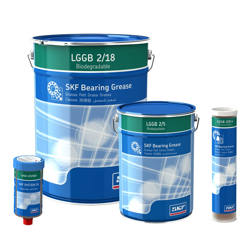 Graisse pour roulements SKF LGGB 2 biodégradable