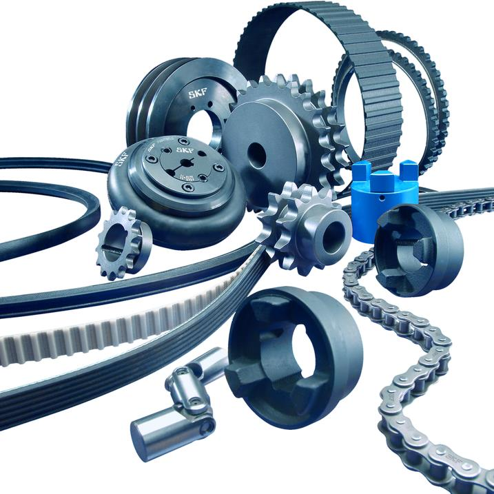 A range of SKF belts, pulleys and sheaves and more