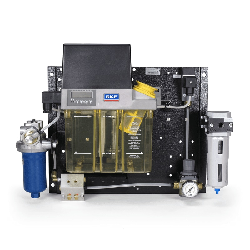 SKF DuoFlex dual-line centralized lubrication systems