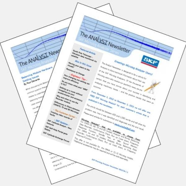 Analyst newsletters