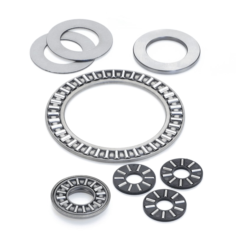 Needle roller thrust bearings and washers
