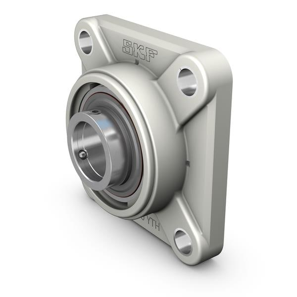 Y-bearing flanged units