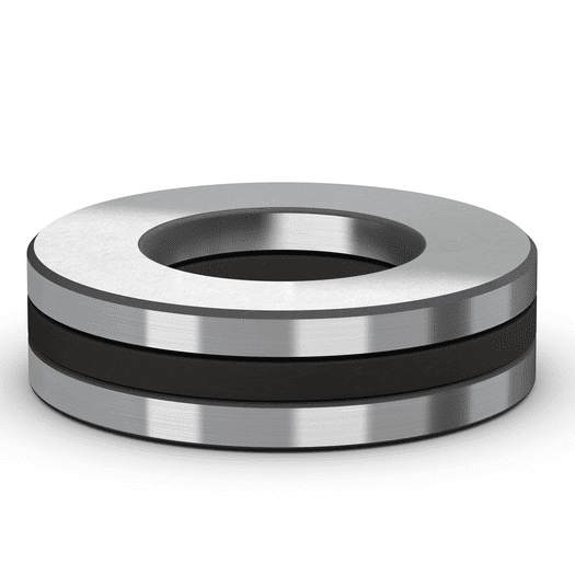 Cylindrical roller thrust bearing complete