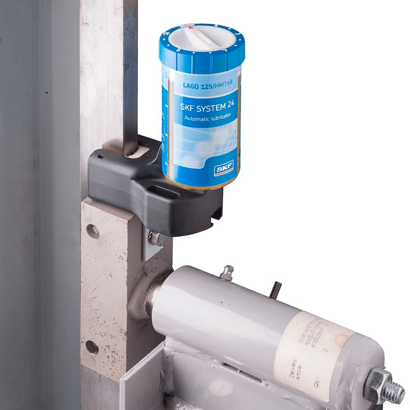 Elevator lubrication with SKF SYSTEM 24
