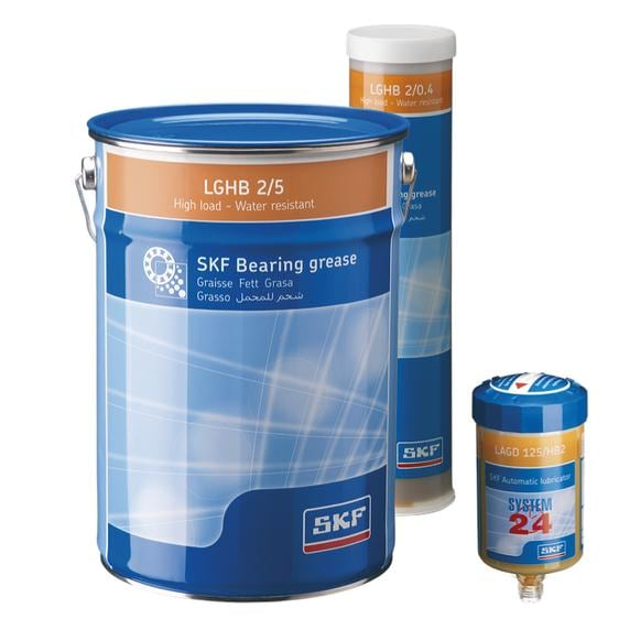 A high performance grease with excellent mechanical stability