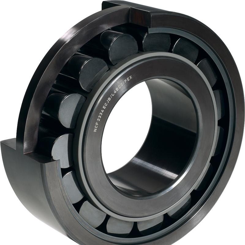 High-capacity cylindrical roller bearing