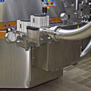 dairy homogenizer with SKF sealing solution
