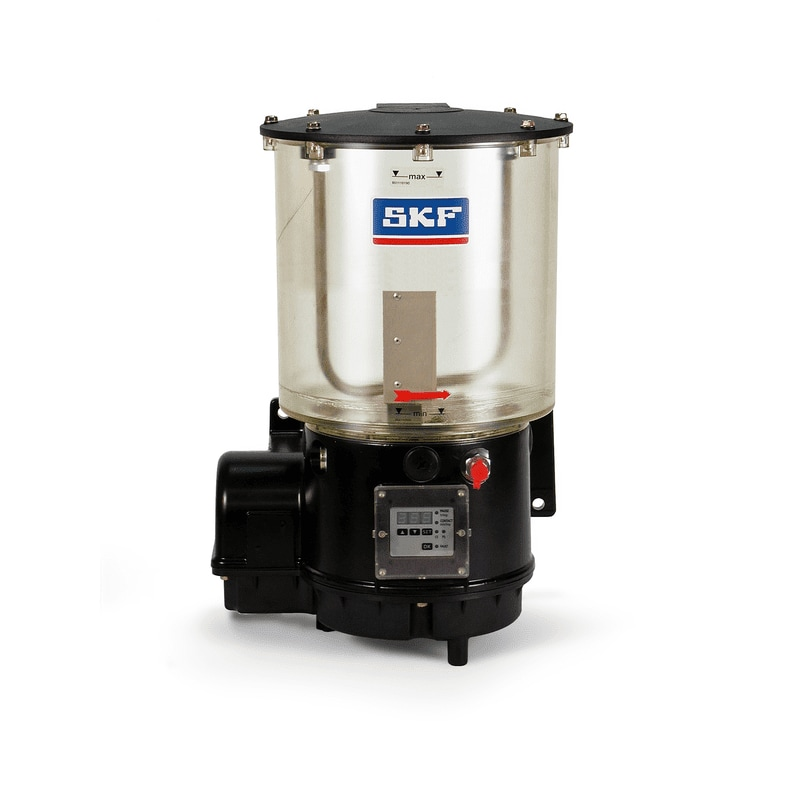 KFG piston pump unit with reservoir