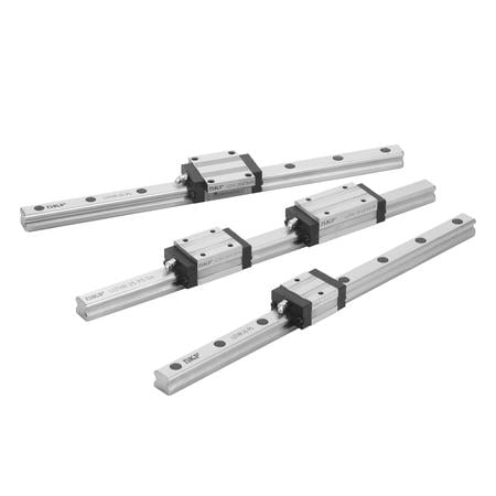 Profile rail guides