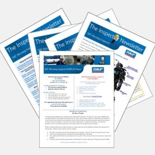 Inspector newsletters