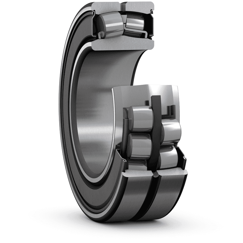 Sealed SKF Explorer spherical roller bearings reduce maintenance, reduce lubricant use and decrease environmental impact