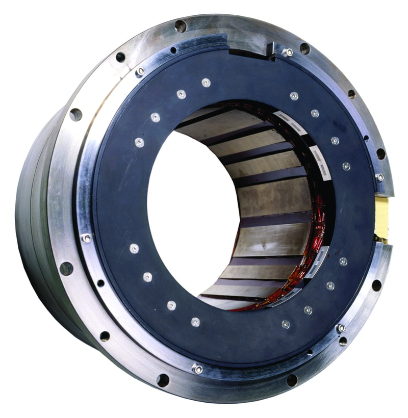 Magnetic bearings stator
