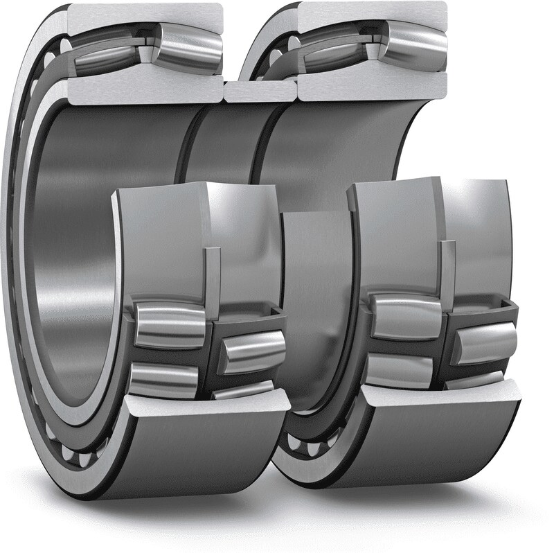 Spherical roller bearing unit