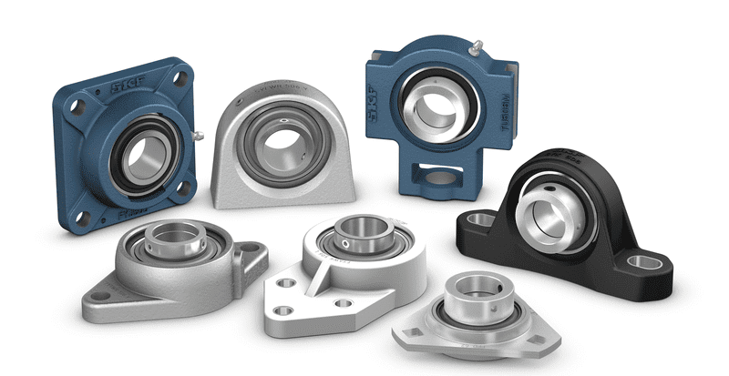 Collection of ball bearing units