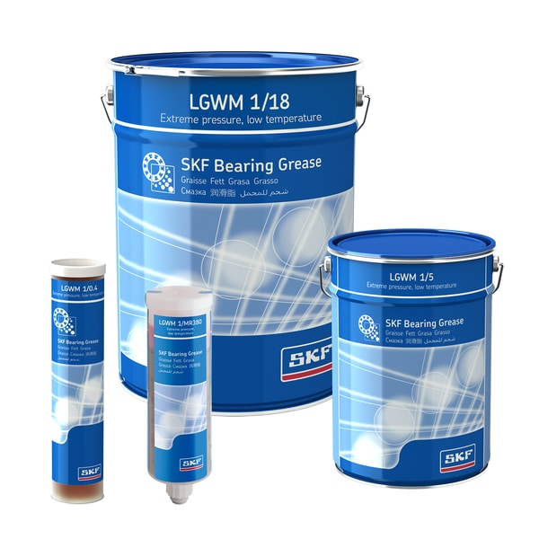 SKF Extreme Pressure Low Temperature Bearing Grease LGWM 1