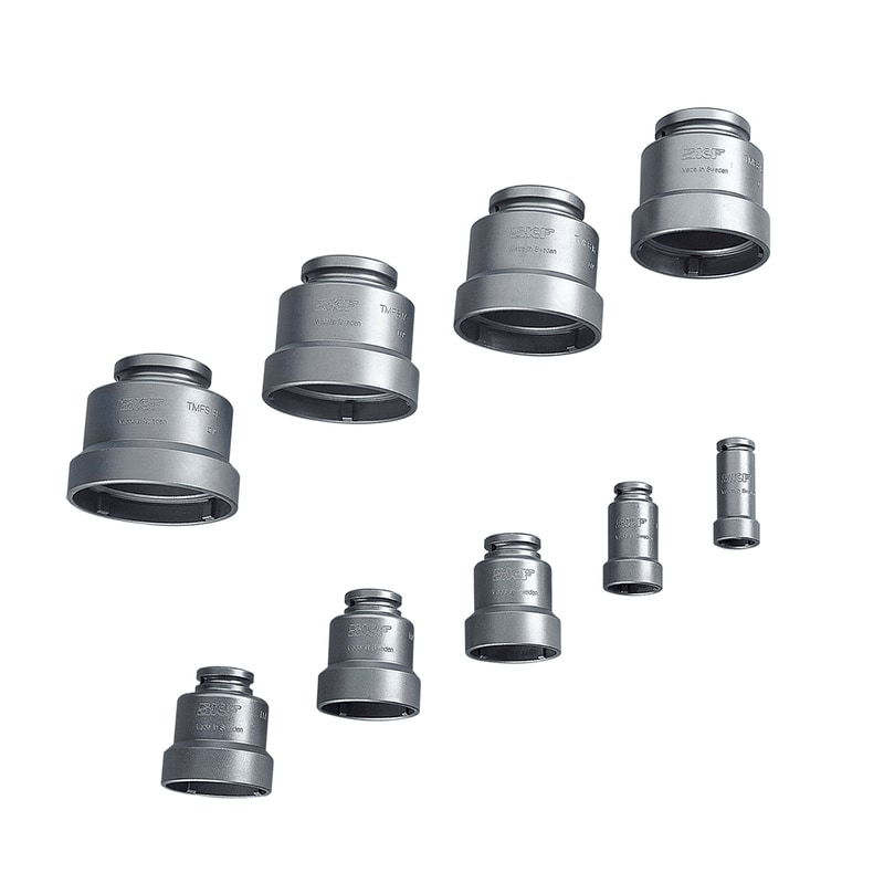 Axial lock nut sockets TMFS series