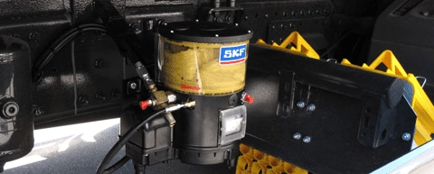 Keep your trucks moving with SKF and Lincoln lubrication systems