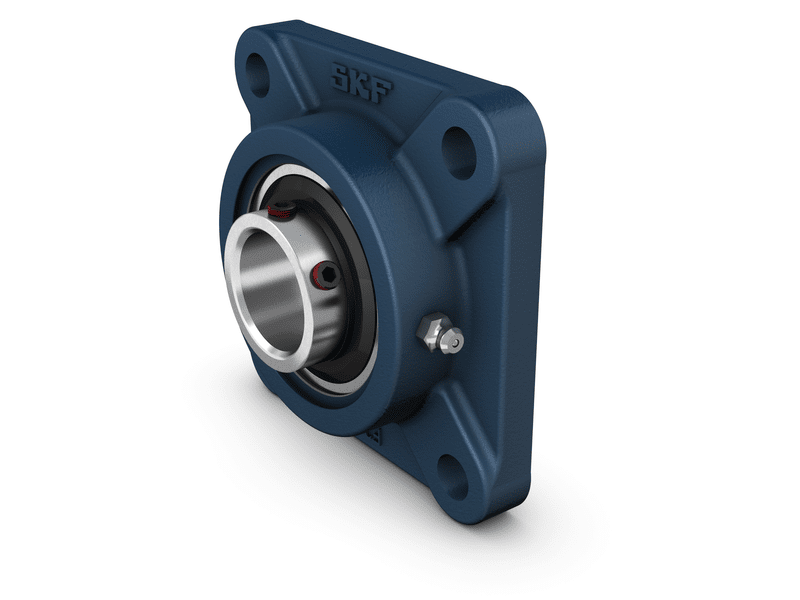 Square flanged unit, series UCF
