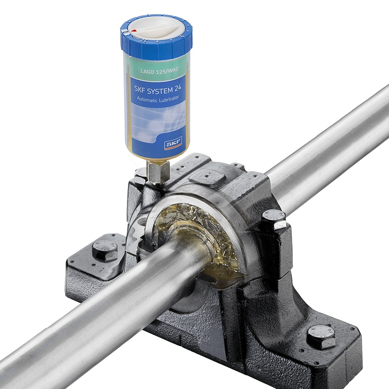 Simple, effective 24/7 automatic lubrication units